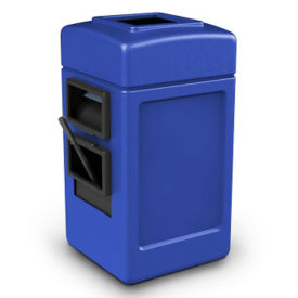 28 Gallon Trash Can with Windshield Wash Station, R20293