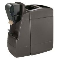 55 Gallon Trash Can with Windshield Wash Station, R20283