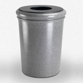 Round Waste Receptacle - 50 Gallon Capacity, V21992