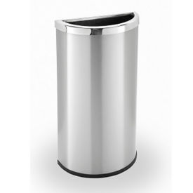 Half Moon Waste Receptacle - 8 Gallon, R20247