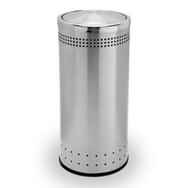 Flip Door Waste Receptacle - 15 Gallon, R20249