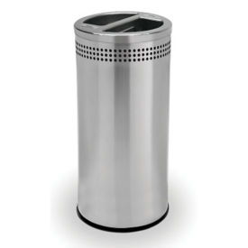 Dual Bin Waste Receptacle - 20 Gallon, R20250