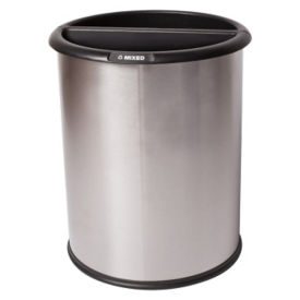 Stainless Steel Waste Receptacle - 3 Gallon, R20252