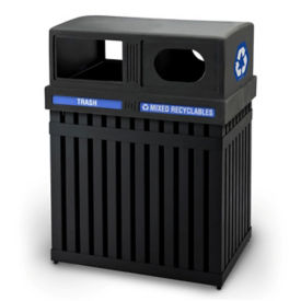 Double Waste Receptacle - 50 Gallon, V21971