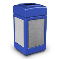Square Waste Receptacle - 42 Gallon, V21974