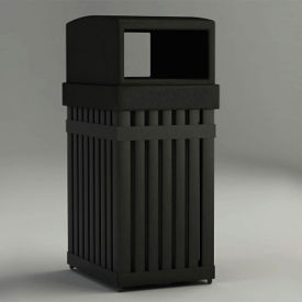 Waste Receptacle with Rectangular Opening - 25 Gallon, V21977