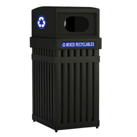 Waste Receptacle with Oval Opening - 25 Gallon, V21978
