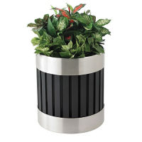 Recycled Steel Planter, V21983