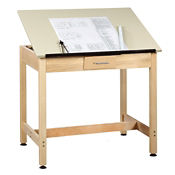"30""H Drafting Table with Small Drawer, A11171"