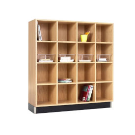 "Four Section Cubby - 48""W, B30595"
