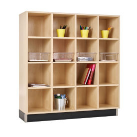 "16 Cubbies - 48""W, B30598"