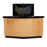 Instructor's Desk with Monitor Mount, D30272