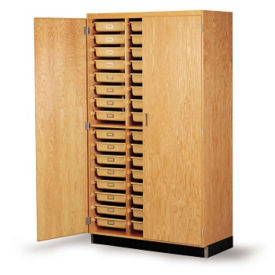 Science Classrom Storage Cabinet with 48 Trays, L70053