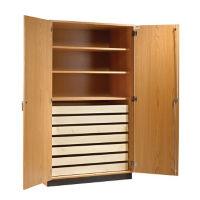 Science Classroom Specimen Storage Cabinet, L70057