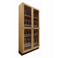 "Science Classroom Microscope Storage Cabinet - 36""W, L70062"