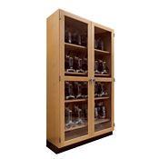 "Science Classroom Microscope Storage Cabinet - 48""W, L70063"