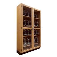 "Science Classroom Microscope Storage Cabinet - 48""W, L70063"