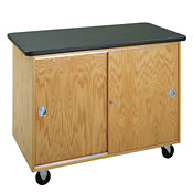 Mobile Lab Demonstration Table - Flat Top, L70071