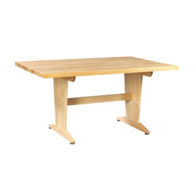 "Art Planning Table with Maple Top 26""H, T11333"