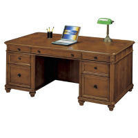 Antigua Executive Desk, L40356