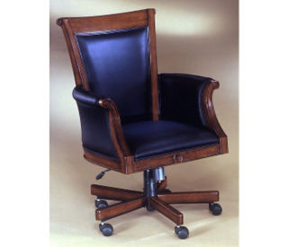 Leather High Back Chair, C80151