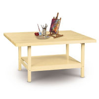 """Two Person Maple Workbench - 28"""" x 64"""", T11788"""