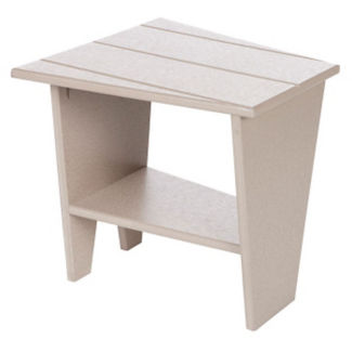 "Trapezoid End Table - 40""W, F10336"