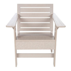 """Lounge Arm Chair with Sloped Seat - 24""""W, F10338"""