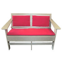 "Lounge Loveseat with Sloped Seat - 48""W, F10339"