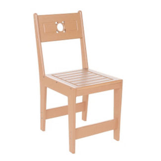 Recycled Plastic Outdoor Cafe Dining Chair, F10301