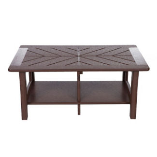 "Recycled Plastic Coffee Table Diagonal Top- 38""Wx26""D, F10303"