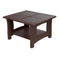 "Recycled Plastic End Table - 27""W x 24""D, F10304"