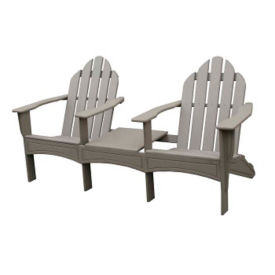 "Adirondack Double Lounge Chair  - 72""W, F10344"