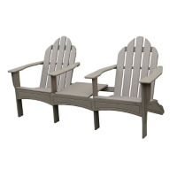"Adirondack Double Lounge Chair  - 72""W, F10344"