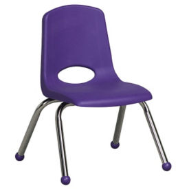 "Stack Chair with Ball Glides 14""H Seat, C70392"