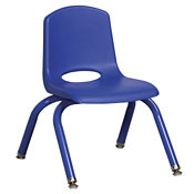 "Stack Chair with Matching Legs 10""H Seat, C70394"