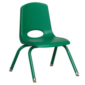 "Stack Chair with Matching Leg 12""H Seat, C70395"