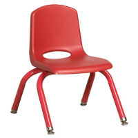 "Stack Chair with Matching Leg 14""H Seat, C70397"