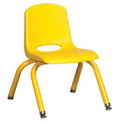"Stack Chair with Matching Leg 16""H Seat, C70398"