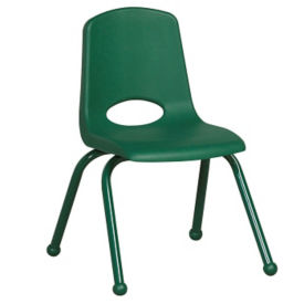 "Stack Chair with Matching Legs and Ball Glides 16""H Seat, C70402"