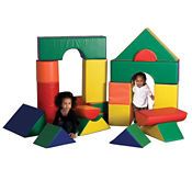 Jumbo Soft Blocks - 21 Piece, P40034