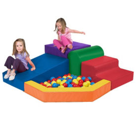 Climber with Ball Pool Soft Set, P40045