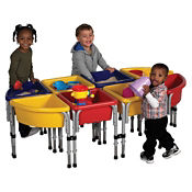8 Station Sand and Water Table Set, P40274