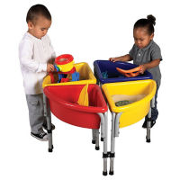 4 Station Round Sand and Water Table Set, P40275