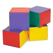 4 Child Size Cube Seats, P40296