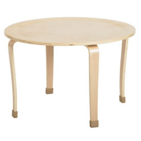 "30"" Round Bentwood Play Table 20""H, T11313"