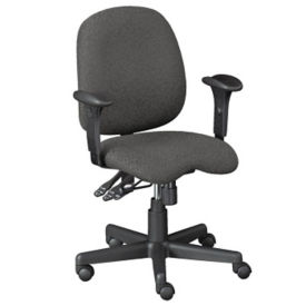 Fabric Contoured Ergonomic Task Chair, C80297