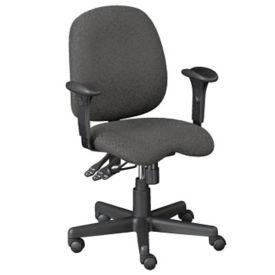 Fabric Contoured Ergonomic Task Chair, C80297