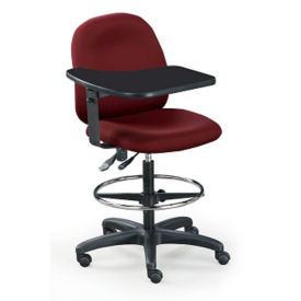 "Mid-Range Teacher's Stool in Vinyl 22-30""H, C70326"