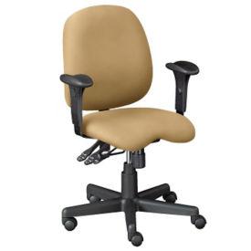 Designer Fabric Contoured Ergonomic Task Chair, C80298